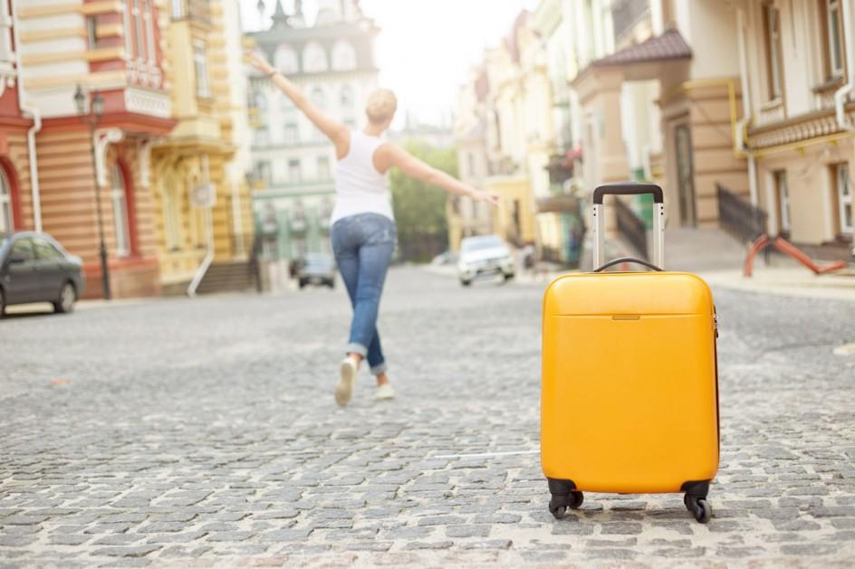 walizka z poliwęglanu